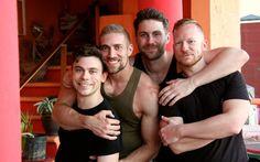 Four gay hunks? Who can play strings? And can sing? Well, Cello there! The regal and extremely handsome guys of strings quartet group Well Strung have postedtheir cover of Lorde's smash hit, Royals. Never have G-strings been so plucked so well, as Edmund, Christopher, Daniel and Trevor strut their stuff around in a New York …