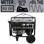 Platinum Series 7,250-Watt 388cc 13 MHP Gasoline Powered THD Clean Sine Wave Power Portable Generator