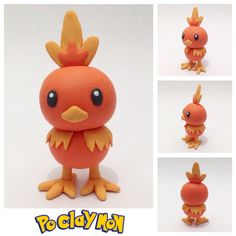 Name: Torchic Type: Fire Made with cold porcelain Follow on Instagram @Poclaymon