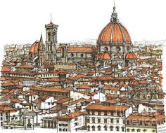 Florence In Color by Lee-Ann Adendorff