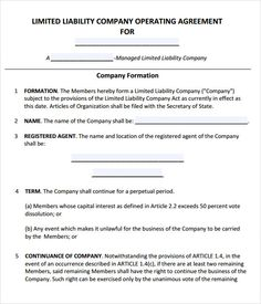 Business Agreement #business #agreement #template | Agreement ...