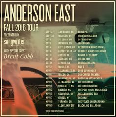 "Anderson East, ""Devil in Me"" Tour Announced, Presented by American Songwriter. Live Music, New Music"