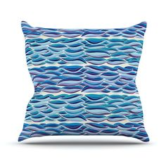 "Pom Graphic Design ""The High Sea"" Outdoor Throw Pillow"