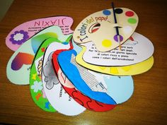 I colori del papà. Thing 1, Fathers Day Crafts, Holidays And Events, Diy And Crafts, Daddy, Alice, Education, Kids, Daycare Ideas