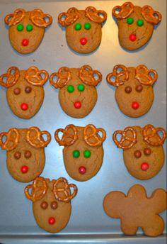 Reindeer gingerbread men