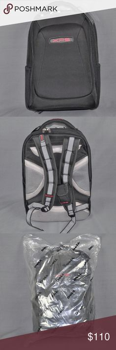 """NWT DELL XPS M1730 17"""" Gaming Laptop Backpack brand new, tag still attached and still in plastic. Made exclusively for DELL. accommodate up to a 17"""" laptop.   Details: shock absorbing shoulder straps, drop protection system, keyboard pocket with elements protection, removable gear storage, removable cd holder & cell phone case, air flow back padding, quick access port, case base stabilizer platform.      Part #JN570  Smoke free pet friendly home.  ❤️bundles ❌trades Please check out the rest…"""