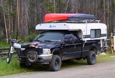 Alaskan Camper set up