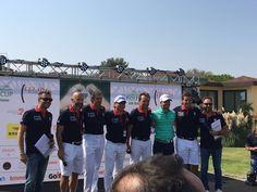 Il mio Team alla Vialli & Mauro ⛳️🏌👞  #Raimondi #raimondigolfshoes #golf #shoes #golfshoes #italianstyle #handmadeinitaly #italy #originali #madeinitaly #fondazionevialliemauro #insiemeperlasla #golfcup