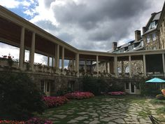 Business trips with a scenic view? Beautiful photos from our visit out to Skytop Lodge. Business Travel, Pennsylvania, Trips, Wellness, Adventure, Mansions, House Styles, Photos, Beautiful