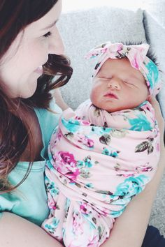 Your little one deserves to be cozy in the prettiest swaddle on the block. Click the image to see why moms are obsessed...