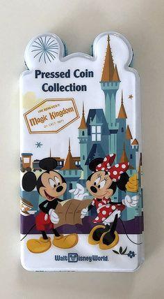 Walt Disney World Four Parks Pressed Penny Book Coin Holder Collection Album Disney World Parks, Walt Disney World Vacations, Disney Trips, Orlando, Disney Lines, Disney Vacation Planning, Vacation Ideas, Disney World Tips And Tricks, Disney Springs