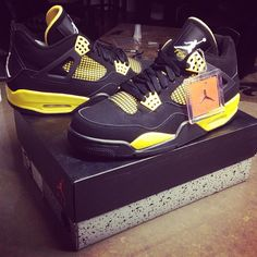 Had to cop these joints. I cant get enoughh.. #Sneakerhead life #Thunder4s - @michael_louis_- #webstagram