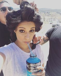 Instagram media by iisuperwomanii - Shoot day. Goals include pretending to be fabulous and not fainting. Go team!
