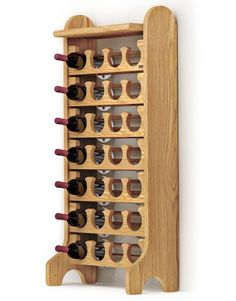 12 Super Cool Esigo Wooden Wine Racks and Wine Storage Ideas Wood Wine Racks, Wine Rack Wall, Wine And Liquor, Wine And Beer, Alcohol Dispenser, Wine Rack Storage, Glass Rack, Idee Diy, Wine Cabinets