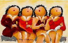 dikke dames schilderijen theo broeren - Google zoeken