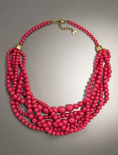 Talbots - Bead Twist Torsade | Accessories |