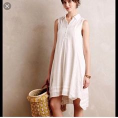 Anthropologie Isabella Sinclair Tillie Shirtdress