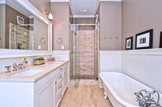 Master Bath Designs For Small Spaces