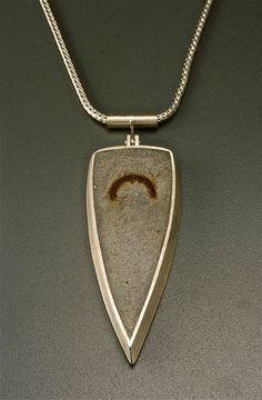 Tom McCarthy Jewelry Concrete steel and rust  ~  gorgeous!