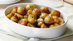Image: Herby roasted new potatoes