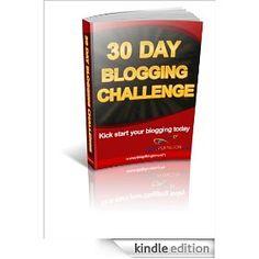 30 Day Blogging Challenge on Kindle