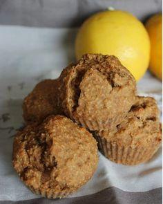 Cuillère et saladier: Muffins au citron et farine complète