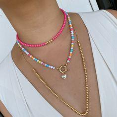 Handmade Wire Jewelry, Handmade Bracelets, Beaded Jewelry, Beaded Bracelets, Jewelry Trends, Jewelry Accessories, Jewelry Design, Diy Necklace, Necklace Designs