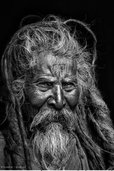 Old rasta man