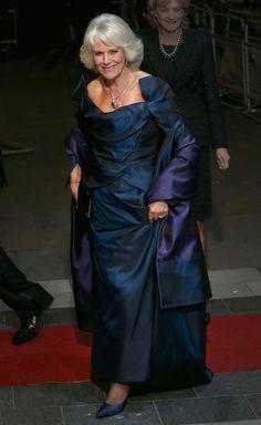 Camilla, Duchess of Cornwall attends the Royal Variety Performance at London Palladium 25 Nov 2013