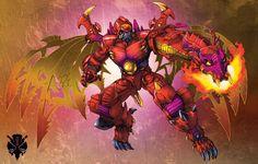 Transformers Beast Wars Transmetal 2 Megatron.