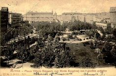 I Giardini di Piazza Vittorio Anno: ? Old Photos, Paris Skyline, Rome, In This Moment, History, Antique, Travel, Memories, People