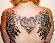 Clockwork Heart and Angel Wings!