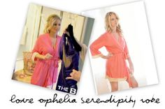 Emily Maynard Pink Robe on the Bachelorette