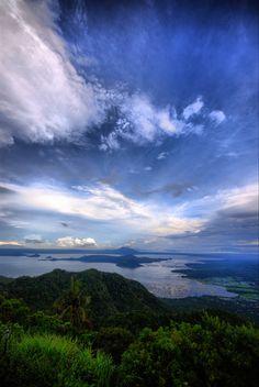 Taal Lake -Filipinas
