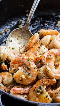 Hawaiian Shrimp Truck Special (Garlic Lemon Butter Shrimp)