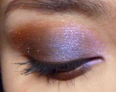Neutrals with a violet sparkle.  http://makeupbox.tumblr.com/post/37302780939/evening-sky-easy-neutral-but-not-neutral #makeup #eyeshadow