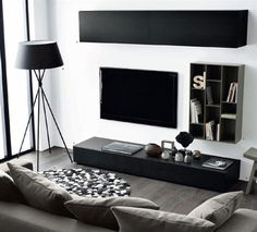Find Out Modern Living Room Interior And Set Ideas Inspiringly Living Room Modern, Living Room Interior, Home Living Room, Apartment Living, Living Room Designs, Living Room Furniture, Living Room Decor, Minimal Living, Apartment Design