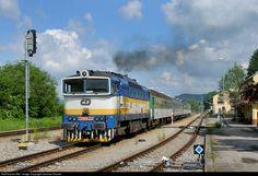 RailPictures.Net Photo: CD 754 057 8 Ceske Drahy CD 754 at Horni Plana, Czech Republic by Jaroslav Dvorak
