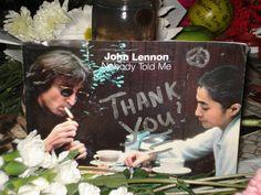 John Lennon Memorial @ Strawberry Fields / Dec. 8, 2009