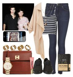 """Day with Harry and Louis."" by welove1 ❤ liked on Polyvore featuring Topshop, Orelia, Vans, ASOS, Warehouse, Too Faced Cosmetics, Kate Spade, women's clothing, women and female"