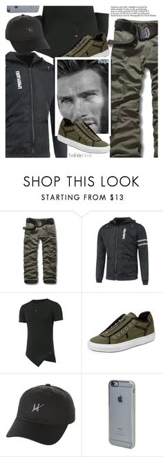 """""""Street Style"""" by pokadoll ❤ liked on Polyvore featuring Dsquared2, HUF, Incase, men's fashion, menswear, polyvoreeditorial and polyvoreset"""
