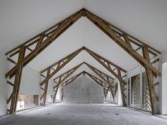 Kräftiges Korn - Wohnumbau von EM2N in der Schweiz