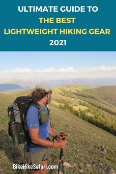 What is the best lightweight hiking gear in 2021? Backpacking gear list with all the best ultralight backpacking gear 2021. A beginners guide to hiking gear. Download you own hiking gear list. Best Hiking Gear, Hiking Tips, Bike Trails, Biking, Ultralight Backpacking Gear, Hiking Quotes, Hiking Essentials, Hiking Photography, Camping Checklist