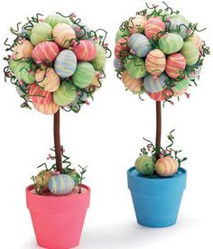 Image result for make easter topiary