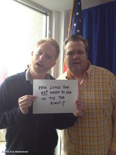 Prop 8 ruled unconstitutional...Modern Family Starts Celebrate!!!! =]=]