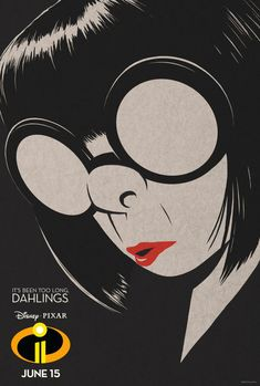 New Movie Posters for Incredibles 2