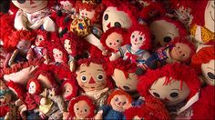 collection display raggedy ann | World's Largest Raggedy Ann and Andy Collection Moves to Deer Lodge