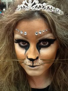 70 best cat face painting images  face painting cat