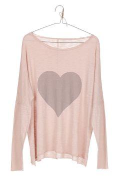 Camiseta HEART rosa