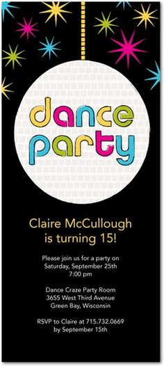 teen-dance-party-invitation